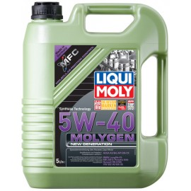 Molygen New Generation 5W-40                            NEW!!!